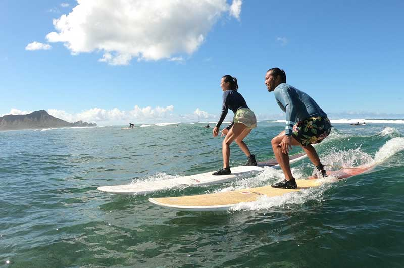 Surfer Girl Academy surf school - Exclusive Lesson