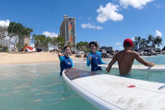 Surfer Girl Academy surf school - Half Day Tour
