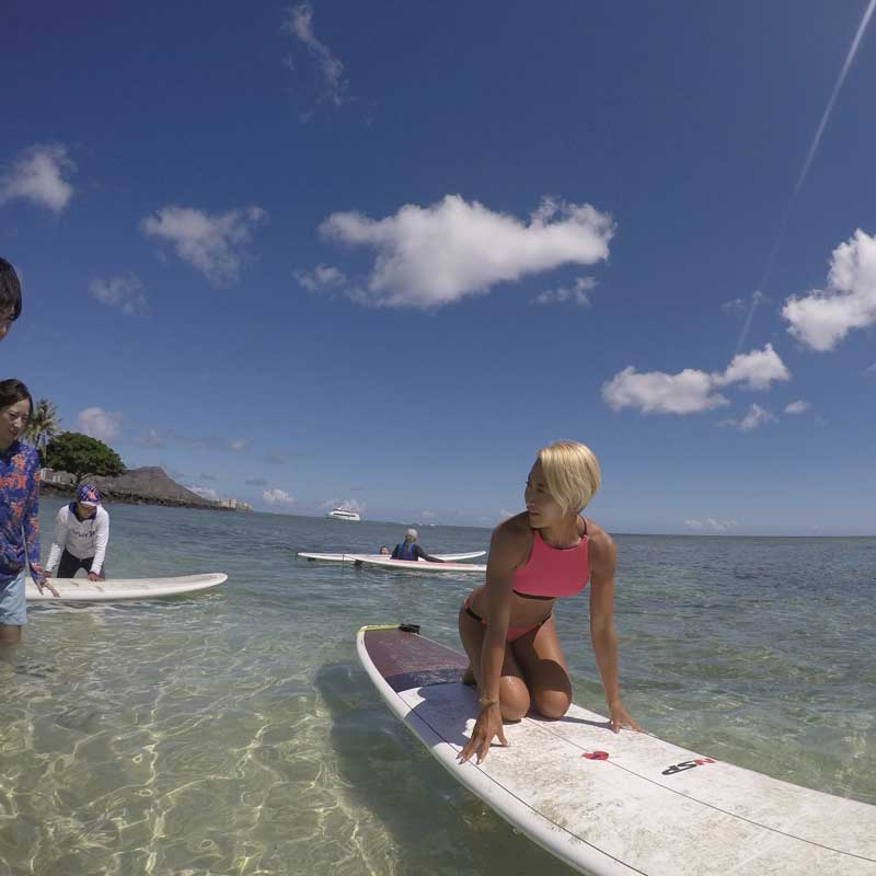 Surfer Girl Academy is about comfort!